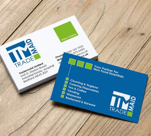 Business cards cleary creative trade maid business card 2 colourmoves