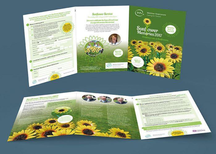 weldmar-hospicecare-sunflower-memories-appeal-leaflet