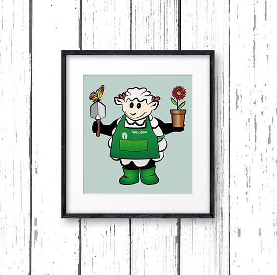 weldbaa-gardener-character-illustration